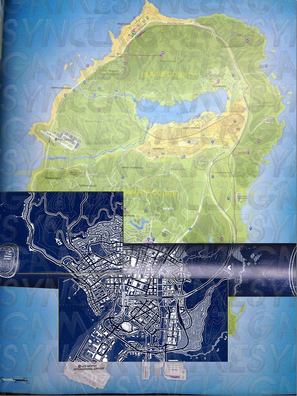 LS Blue Map