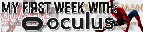 1st week oculus